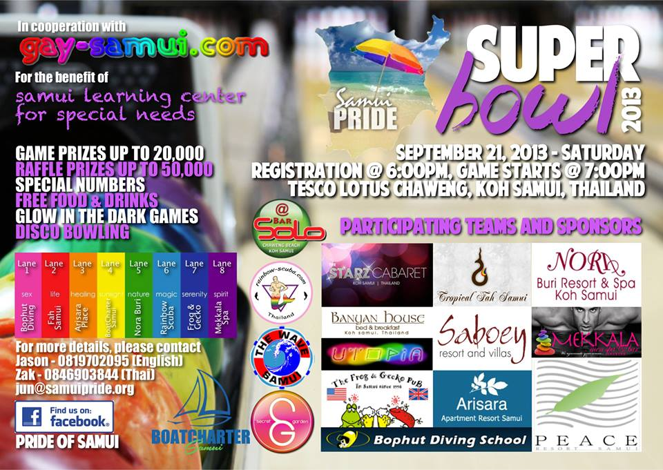 Samui Gay Pride need your help for the Special Needs School | Samui Times