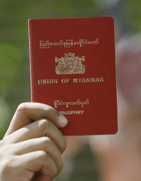 myanmar to issue temporary passports to workers in