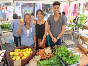 Green Market time