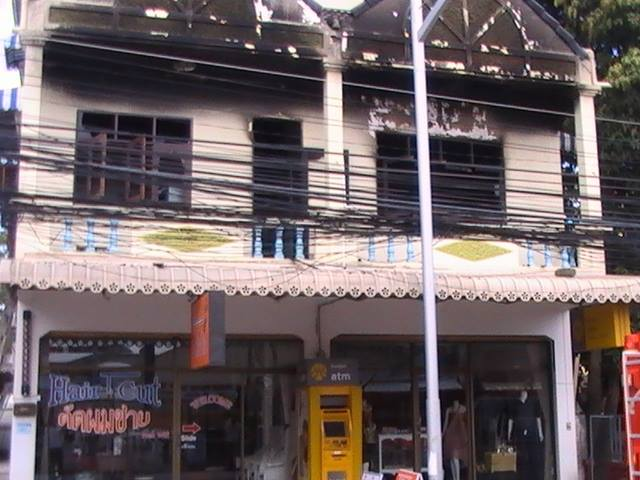 Fire in Chaweng caused by faulty LCD TV   Samui Times