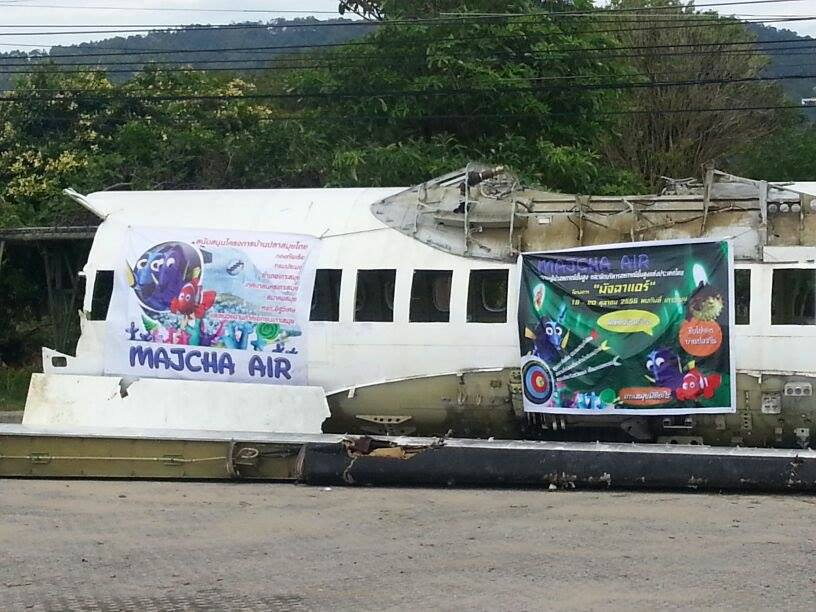 Mystery of the aircraft solved – Majcha Air Samui Artificial Reef | Samui Times