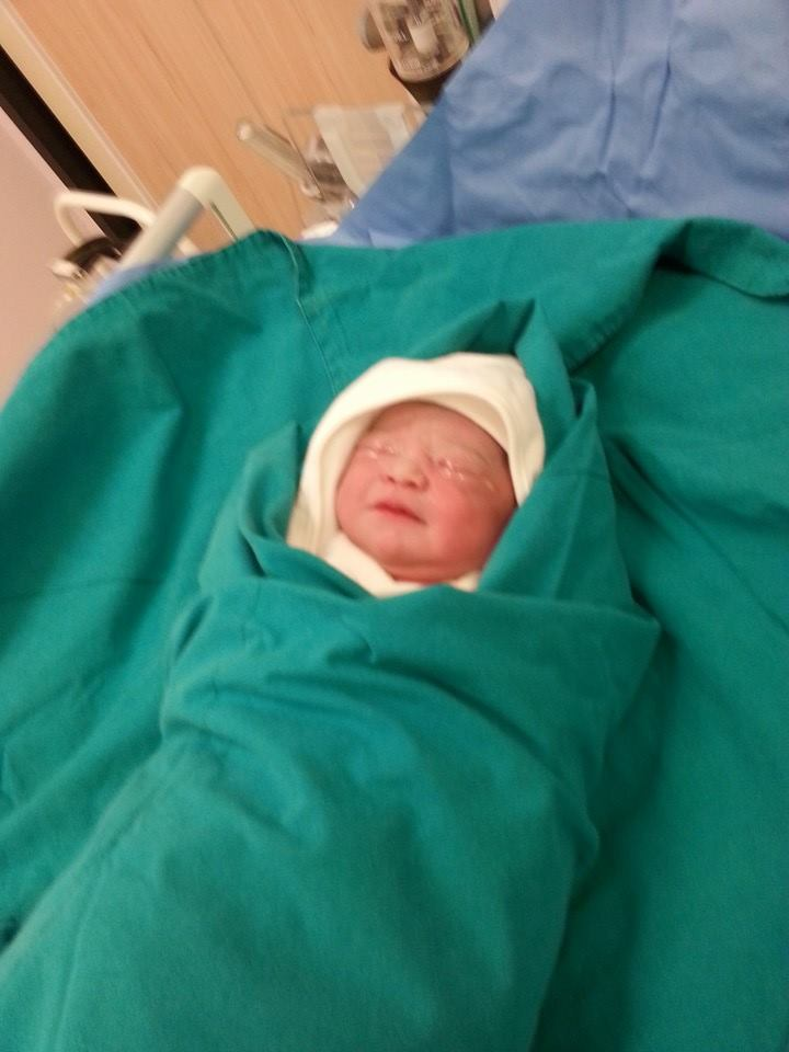 The first baby to be born in Bangkok Samui Hospital on Loy Krathong   Samui Times