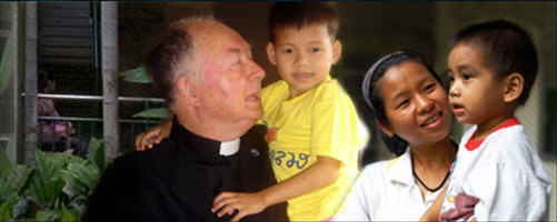 The Rotary, Father Joe and the kids of the Mercy Centre | Samui Times