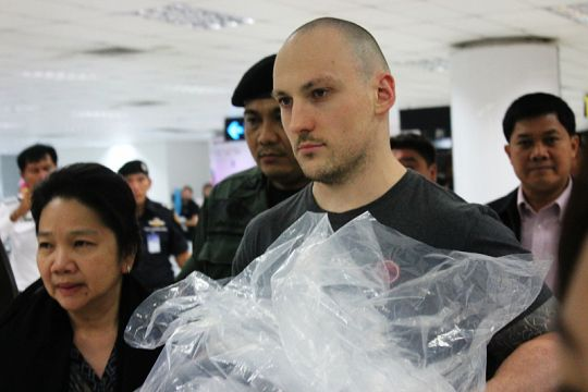 """Lee """"pitbull"""" Aldhouse receives 25 years in a Thai jail for the murder of Dashawn Longfellow 