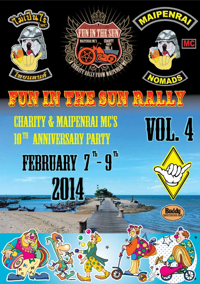 Maipenrai MC – bikers who raise money for charity's 10th anniversary event | Samui Times