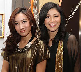 Thaksin sinawatra's daughters jet 1st class to London with 150 kilos of luggage | Samui Times