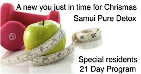 A special offer for Samui Residents from Pure Detox | Samui Times