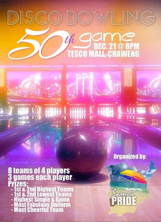 Samui Pride 50th bowling game on Saturday 21st December | Samui Times