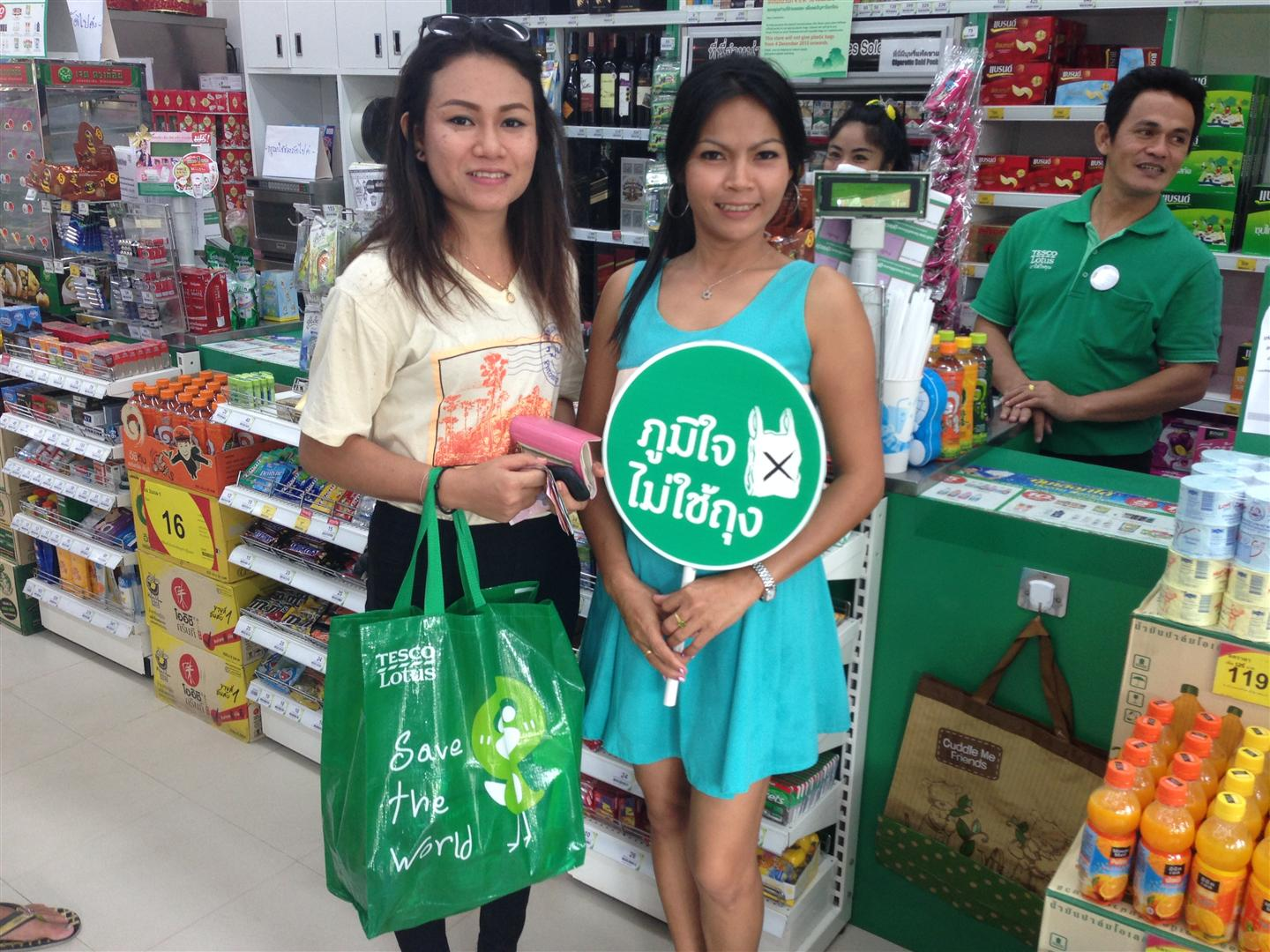 Tesco Lotus piloting No Bag Stores in Koh Samui and Phuket | Samui Times