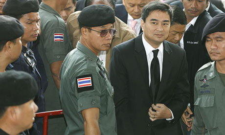 Abhisit Vejjajiva has been formally charged with murder | Samui Times