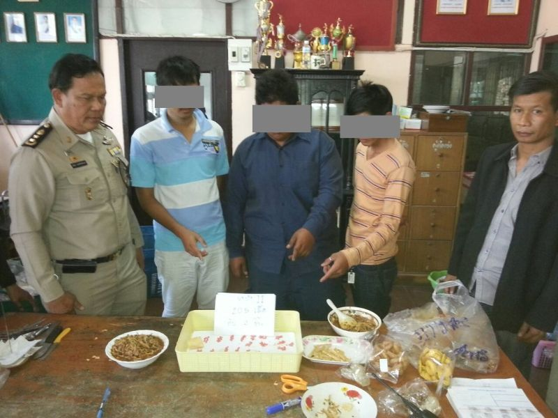 Three arrested for smuggling amphetamines into a jail in bamboo shoot soup | Samui Times