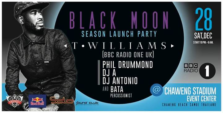 December 28th Black Moon Party | Samui Times