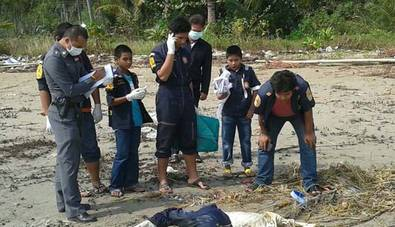 Nine sets of human remains, including those of a westerner in a wet suit found in Lang Suan district | Samui Times
