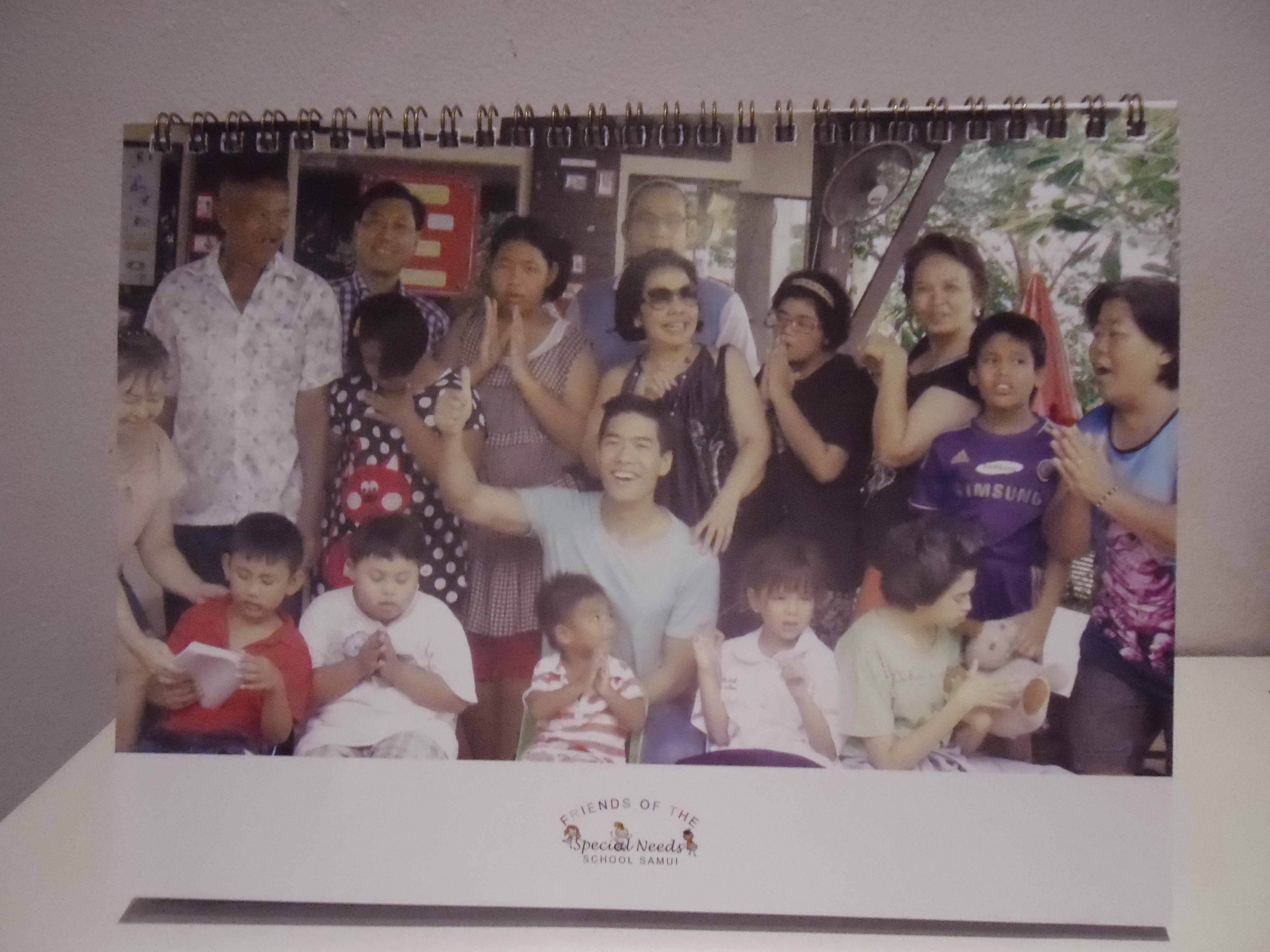 Friends of the Special Needs School 2014 Calendars now on sale | Samui Times