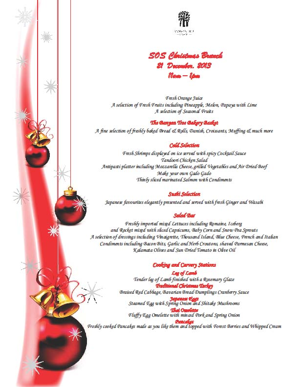 The Sisters on Samui Christmas lunch at the Banyan Tree – a few spaces left | Samui Times