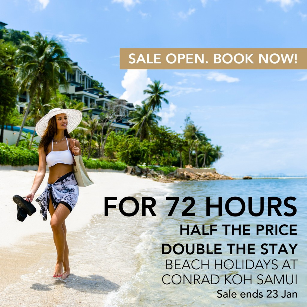 Conrad 72 hour sale