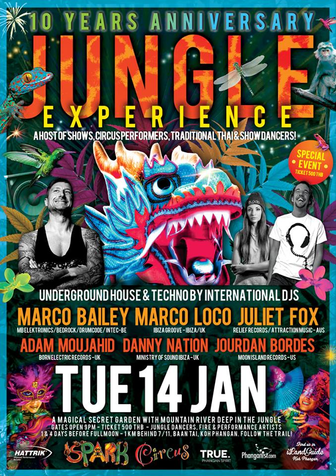 Jungle Experience Party | Samui Times