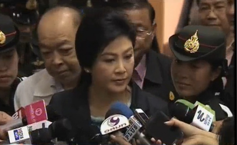 Conflicting theories about Yingluck escape after video of police pickup | Samui Times
