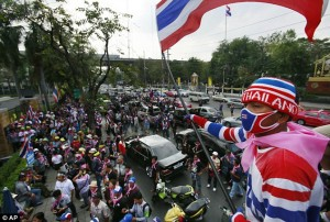 protests Thailand