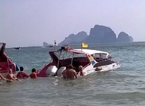 speedboat crash thailand