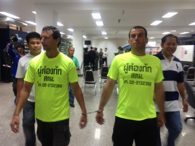 Two men wanted by Interpol arrested in Thailand   Samui Times
