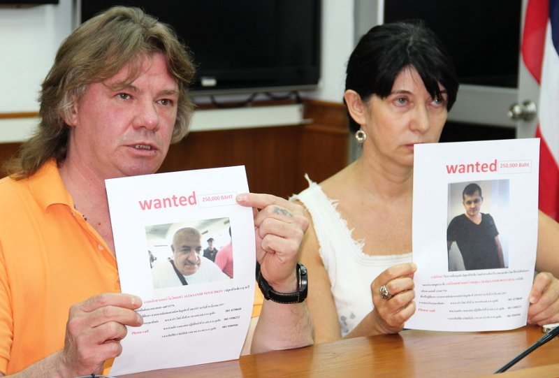Missing Phuket Russian's family increase rewards for kidnappers' arrests | Samui Times