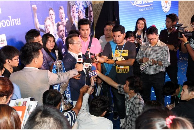Thailand 'celebrating City's promotion to Premier League as much as Leicester' | Samui Times
