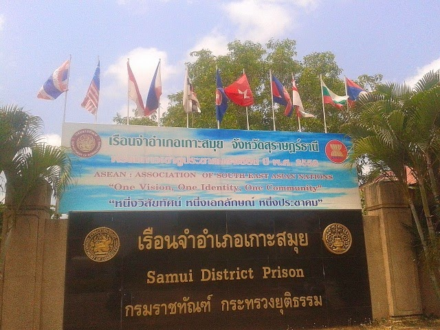 Human rights officials oversee Ko Samui prison | Samui Times