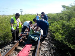 foreigner found dead on train tracks