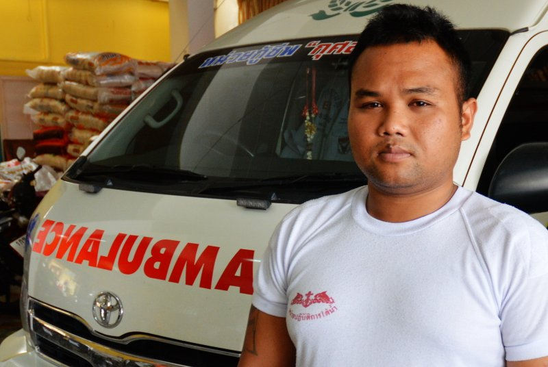 Phuket rescue man tells of his battle with death after being stuck in a sewer | Samui Times