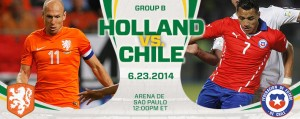 Holland v Chile