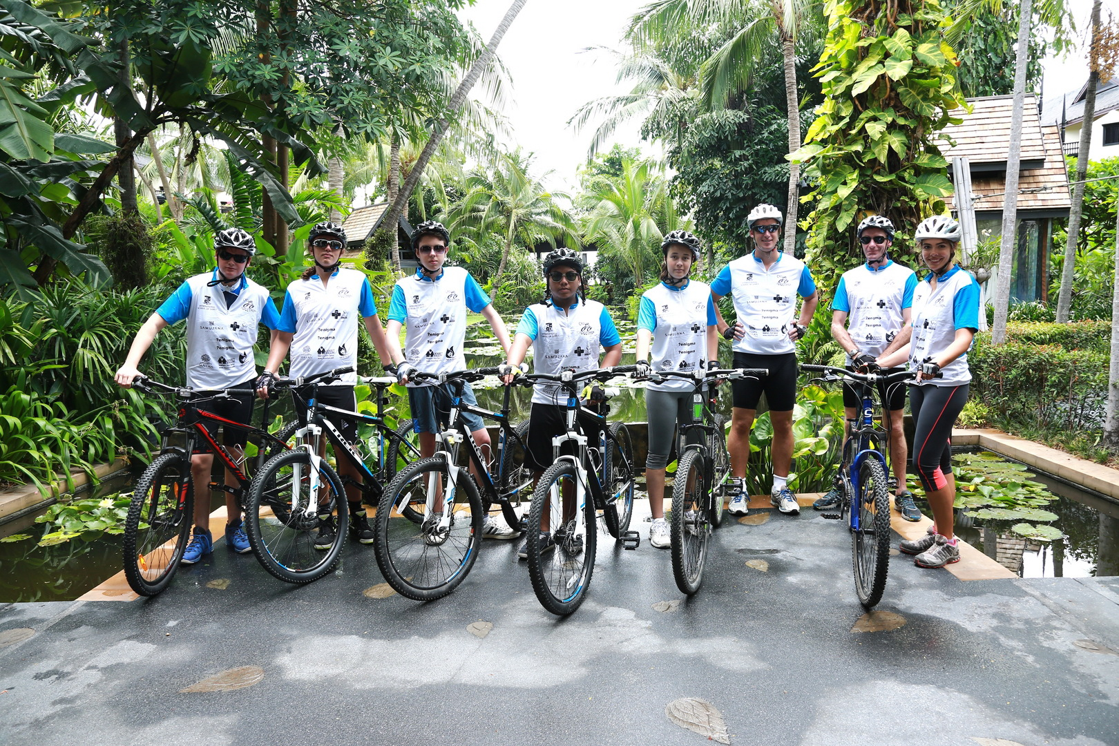 Students embark on cross-country cycling expedition for charity | Samui Times