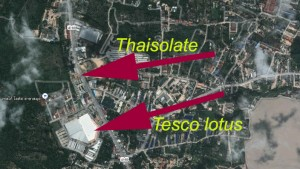Thaisolate map