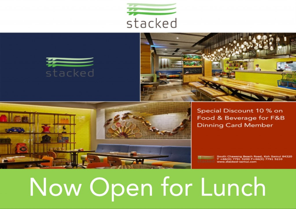 ten percent off at stacked