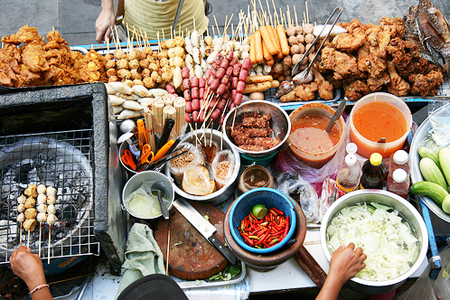 Food Cart Practice Causes Cancer, Health Official Warns   Samui Times