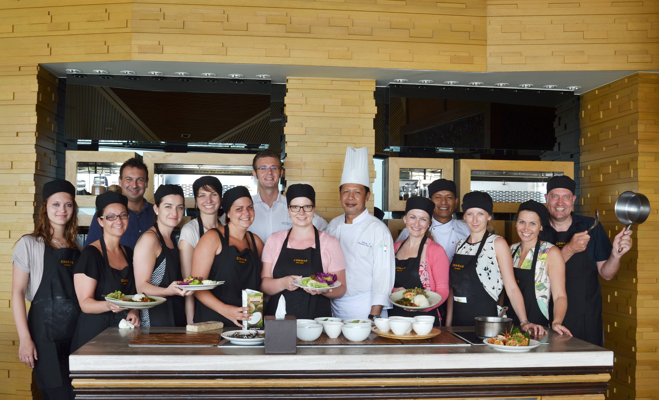 Conrad Koh Samui welcome luxury travel agents from Germany | Samui Times