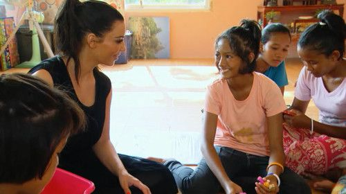Kim K thought about adopting Thai orphan, she literally says on TV | Samui Times
