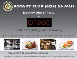 rotary at prego