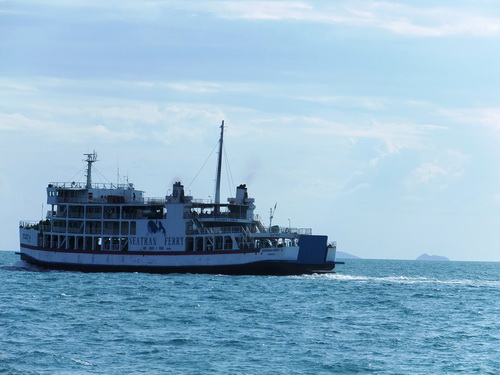 Samui ferry service resumes at Seatran | Samui Times