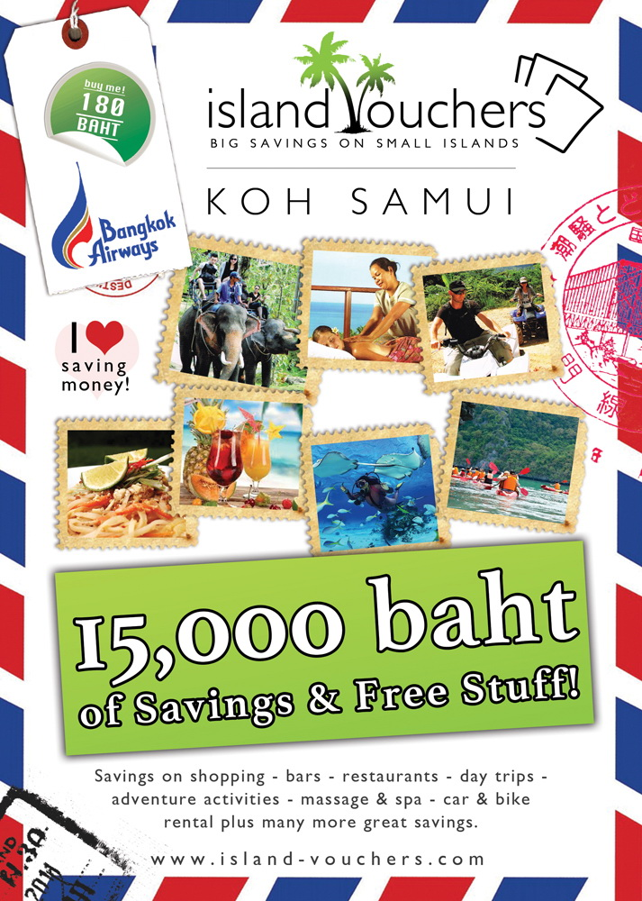 How to promote your businesses in Samui with Island Vouchers | Samui Times