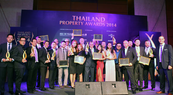 Thailand's real estate excellence celebrated at 2014 Thailand Property Awards | Samui Times