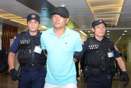 Suspect in Taichung tycoon's murder repatriated from Thailand after spending time in Samui | Samui Times