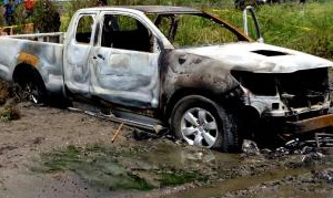 Chumphon man kills is wife and daughter before burning their bodies in his pick-up | Samui Times