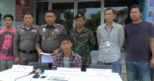 knife gang arrests Koh Samui