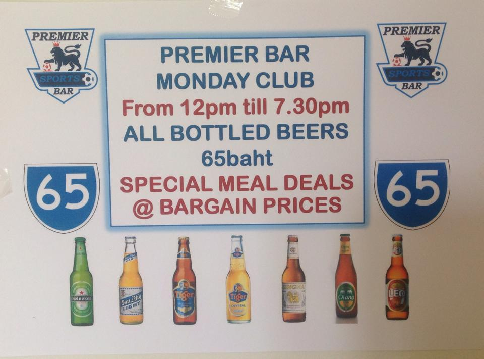 The Premier Sports Bar announce a very special promotion | Samui Times