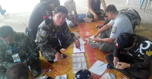 Soldiers Find Guns, Nearly 1 Mil. Baht In Temple Raid | Samui Times