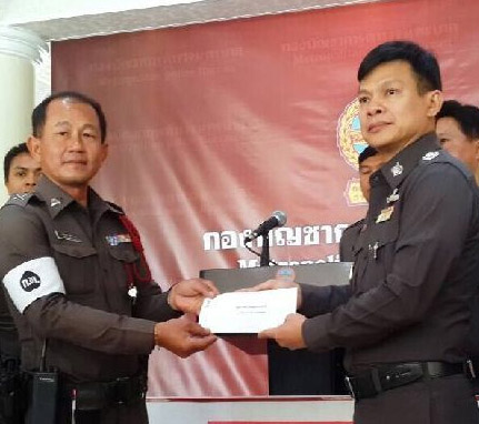honest police in Thailand