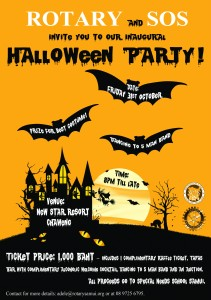 rotary halloween event