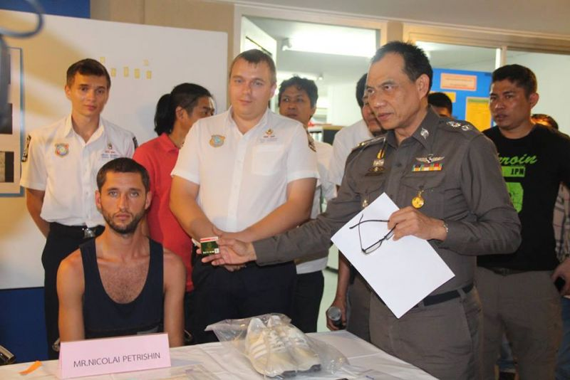 Russian skimmer arrested after stealing nearly B100K in Kamala   Samui Times