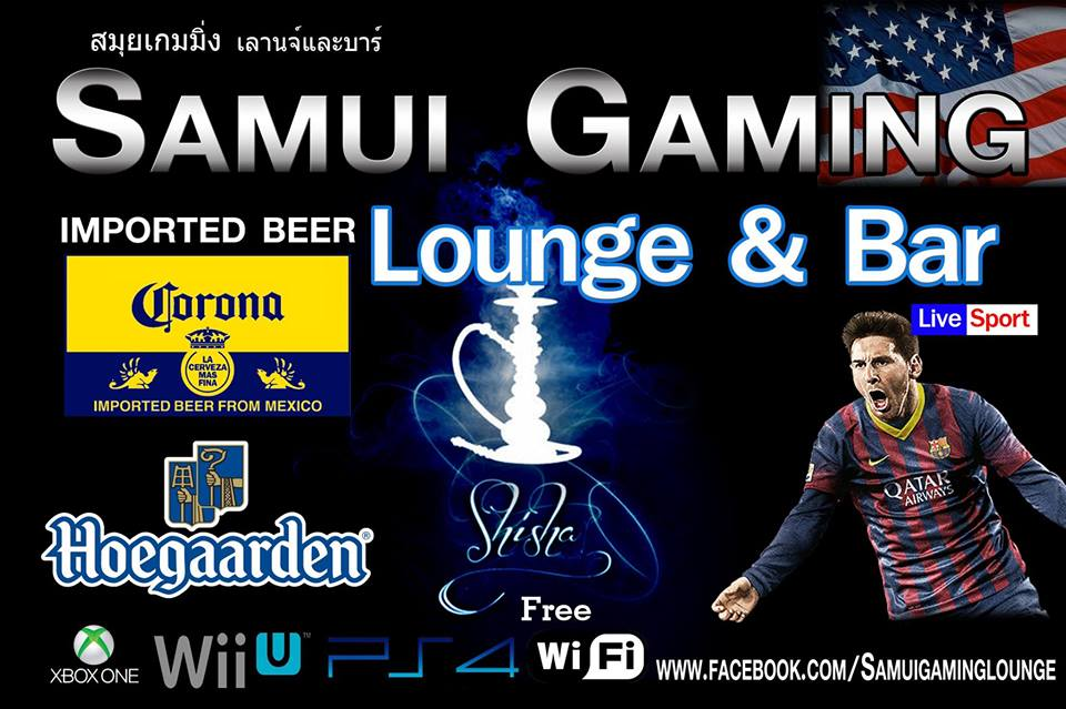 The Samui Gaming Lounge – the hangout with something for everybody | Samui Times